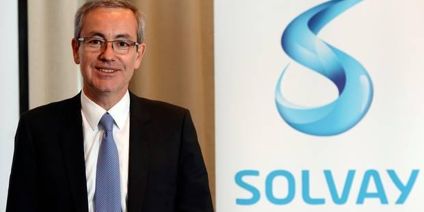 Solvay fait mieux que prévu en 2014 - La Libre