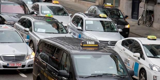 Uber: Les taxis bruxellois maintiennent la pression sur le ministre - La Libre