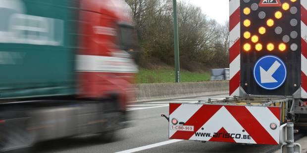 Ces nouveaux chantiers qui perturberont la circulation sur nos autoroutes (INFOGRAPHIE) - La Libre