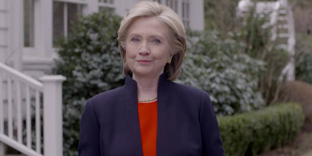 Hillary Clinton candidate à la présidentielle américaine - La Libre