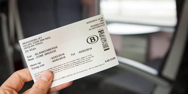 SNCB: un contrôle du billet dans 62,9% des trains, selon la ministre Galant - La Libre