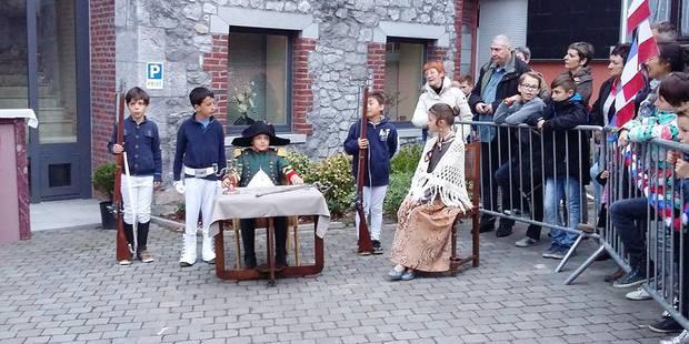 Le retour de Napoléon à Beaumont - La Libre