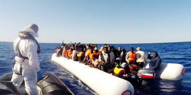 Plus de 3.400 migrants secourus en Méditerranée - La Libre
