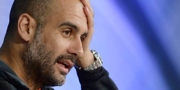 Acclamé hier, Guardiola est désormais pointé du doigt - La Libre