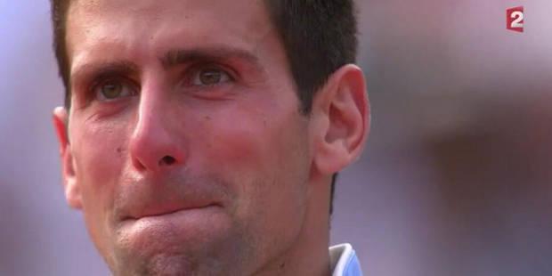 Désillusion puis standing ovation: Djokovic en larmes à Roland Garros (VIDEO) - La Libre