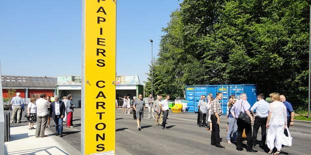 Momignies: un parc à conteneurs plus moderne - La Libre