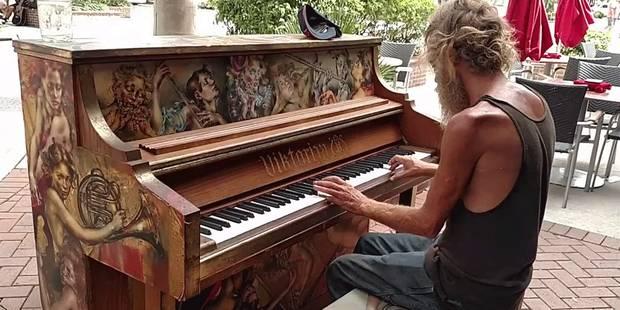 Ce SDF est un virtuose du piano: il trouve un job grâce à Youtube - La Libre