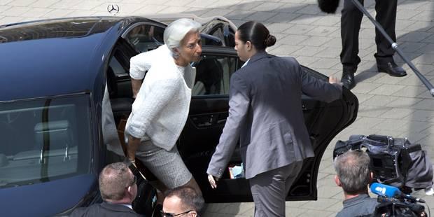 """Grèce: la patronne du FMI Christine Lagarde attend """"beaucoup de progrès"""" - La Libre"""