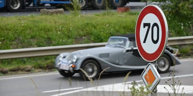 2017: Limitation de vitesse à 70km/h partout en Flandre - La Libre