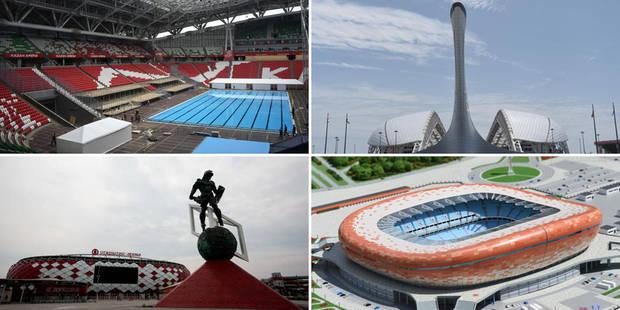 Voici les stades pour la Coupe du Monde 2018 (PHOTOS) - La Libre