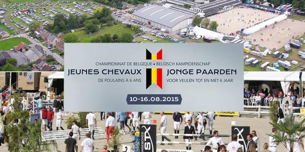 Concours: assistez en VIP au Championnat de Belgique des Jeunes Chevaux - La Libre