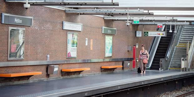 Dans le métro bruxellois, des caméras pas si utiles que ça - La Libre