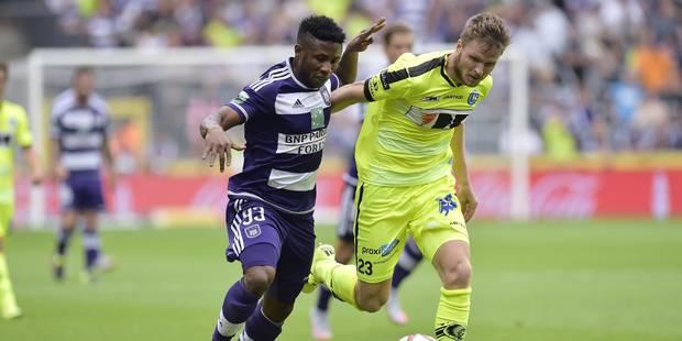 Anderlecht tient le nul face à un Gand conquérant (1-1) - La Libre