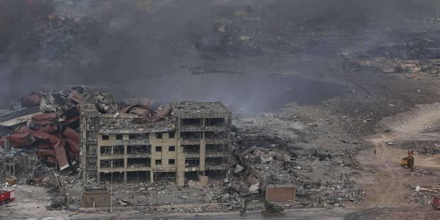 Explosions en Chine : comment Pékin esquive les questions brûlantes - La Libre