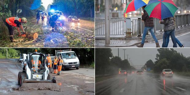 Intempéries: de nombreux dégâts en Wallonie - La Libre