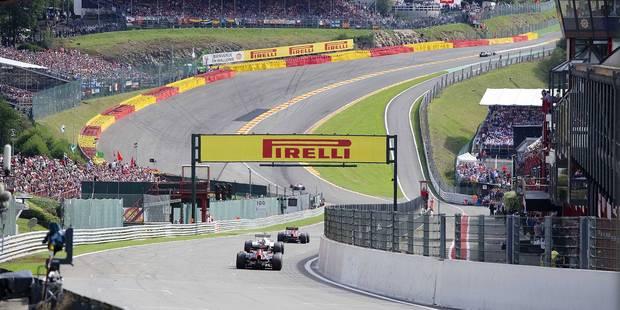 Formule 1: Combien coûte le GP de Spa à la Région wallonne ? - La Libre