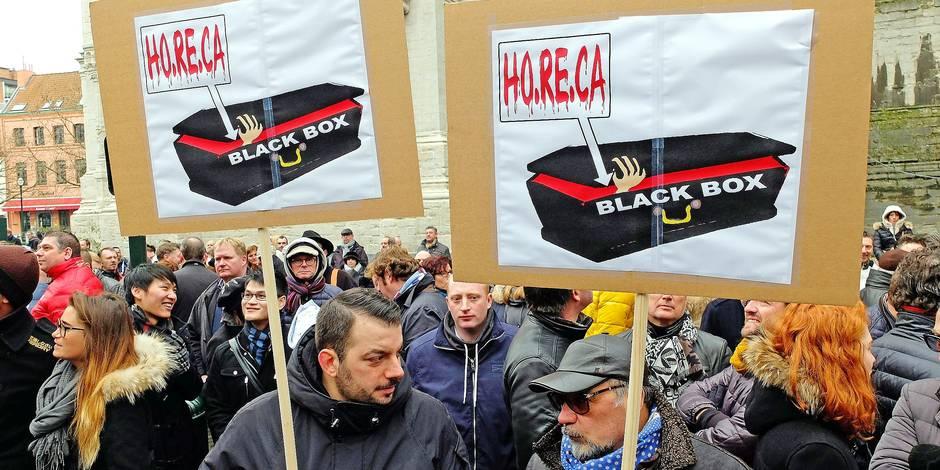 """Blackbox dans l'Horeca: """"Pour survivre, on fera encore du noir"""" - La Libre"""