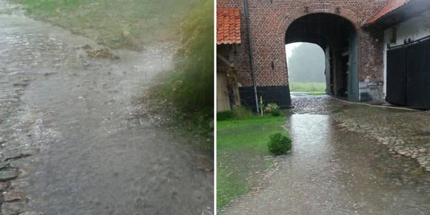 Les orages frappent la Belgique : une dame décède en Flandre (PHOTOS) - La Libre