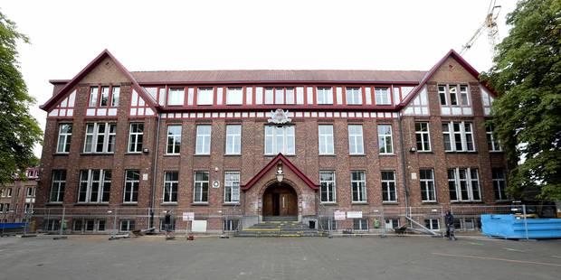 Incendie au collège Cardinal Mercier à Braine-l'Alleud - La Libre