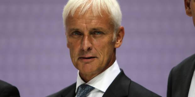 Matthias Müller, patron de Porsche, devrait diriger Volkswagen - La Libre