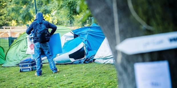 """Au parc Maximilien, les sans-papiers se sentent """"trahis"""" - La Libre"""