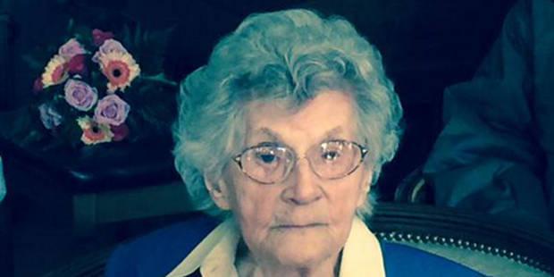 La doyenne des Bruxellois a fêté ses 108 ans - La Libre