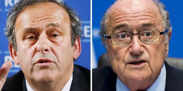 """Fifa: une possible """"falsification des comptes"""" par Blatter et Platin - La Libre"""