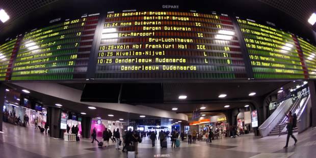 Le trafic ferroviaire entièrement rétabli après deux jours de grève - La Libre