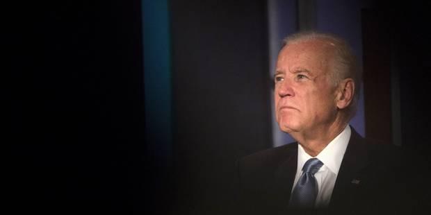Le vice-président américain Joe Biden ne sera pas candidat à la Maison Blanche - La Libre