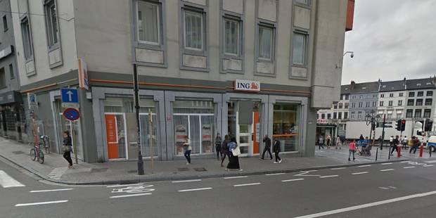 Alerte à la bombe levée dans une agence bancaire d'ING à Ixelles - La Libre