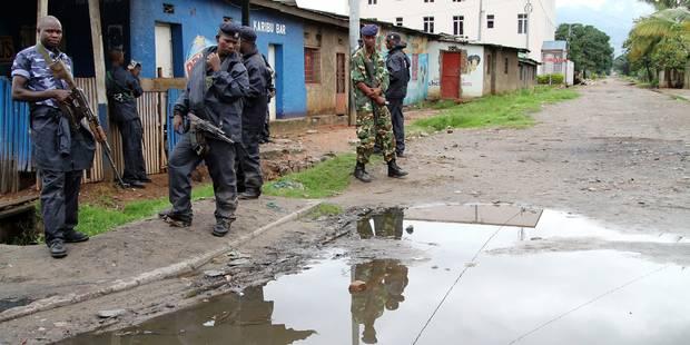 Burundi: rafles policières à Bujumbura - La Libre