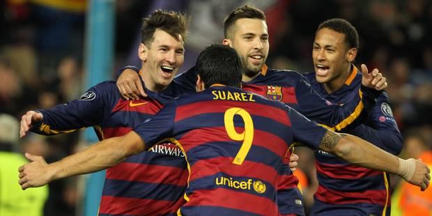 C1: Barcelone et le Bayern qualifiés, Messi de retour - La Libre