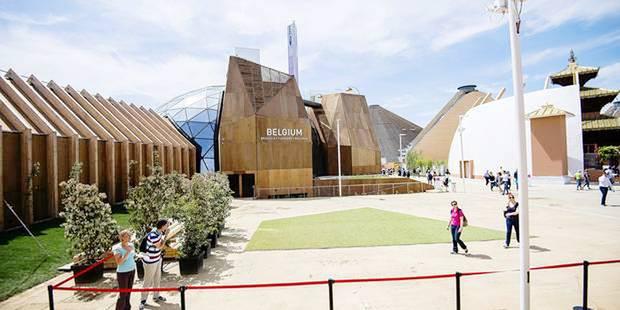 Le pavillon belge de l'expo universelle bientôt à Namur - La Libre