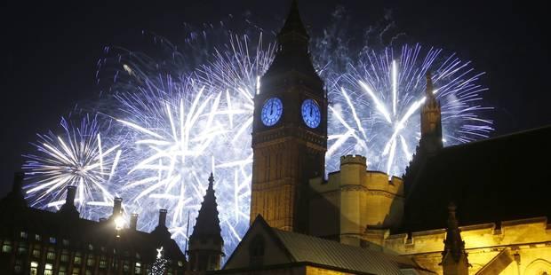 La fête du Nouvel An dans le monde (PHOTOS) - La Libre