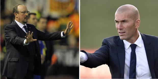 Officiel: le Real Madrid démet Rafael Benitez et nomme Zinédine Zidane entraîneur - La Libre