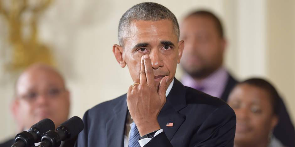 Edito: Barack Obama ne désarme pas - La Libre