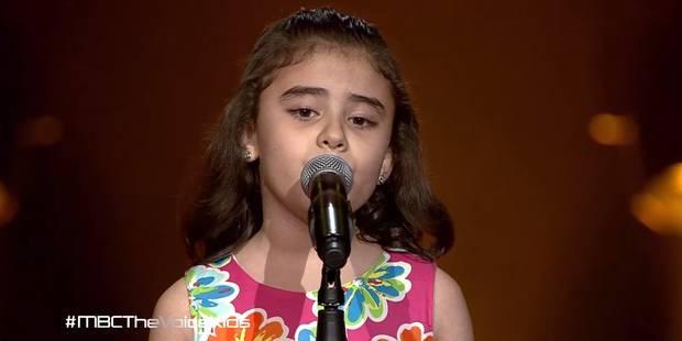 Cette fillette chante pour la paix en Syrie, son pays, et fond en larmes (VIDÉO) - La Libre