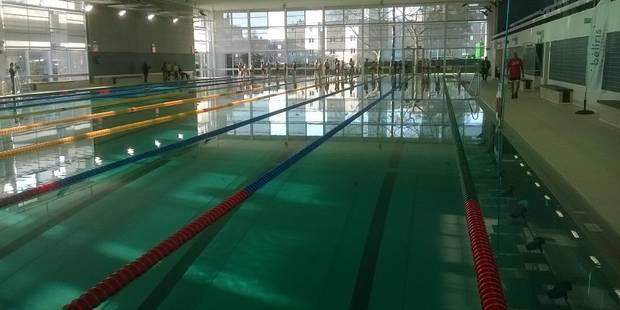 La piscine olympique Louis Namèche à Molenbeek va rouvrir au public - La Libre