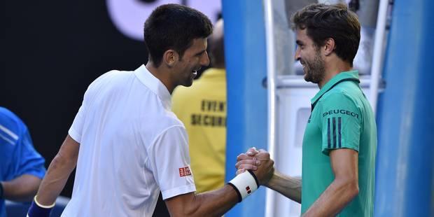 Open d'Australie: Djokovic en cinq sets en quarts de finale - La Libre