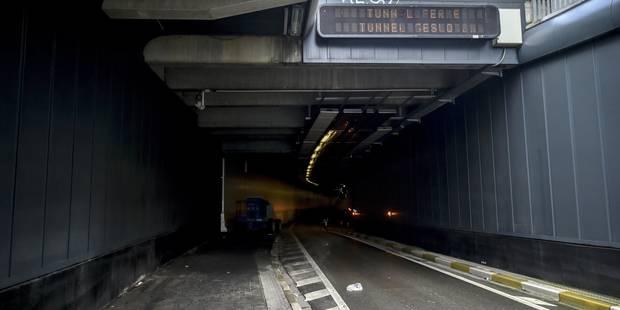 La décision de rouvrir ou non le tunnel Stéphanie prise au début de la semaine prochaine - La Libre
