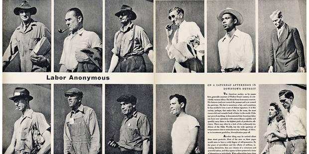 Walker Evans à la Fondation A : Tous pareils et si différents - La Libre