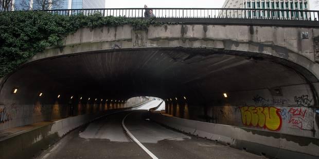 Bruxelles: le tunnel Pachéco rouvert à la circulation - La Libre