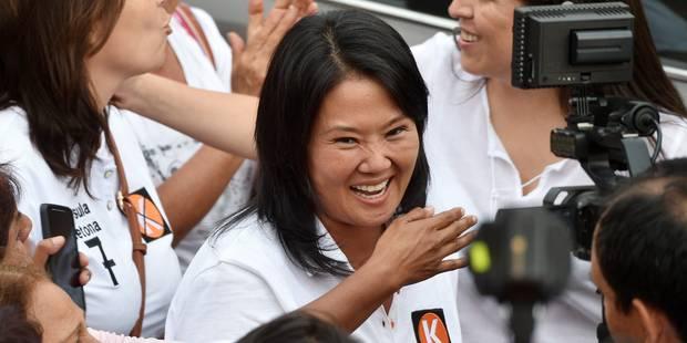 Pérou : la fille Fujimori favorite pour la présidentielle d'avril - La Libre