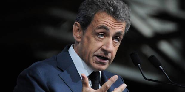 Sarkozy entendu par des juges sur le financement de sa campagne 2012 - La Libre