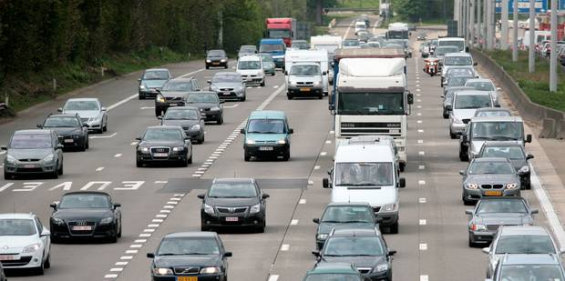 Accident impliquant 4 véhicules sur le ring de Bruxelles - La Libre