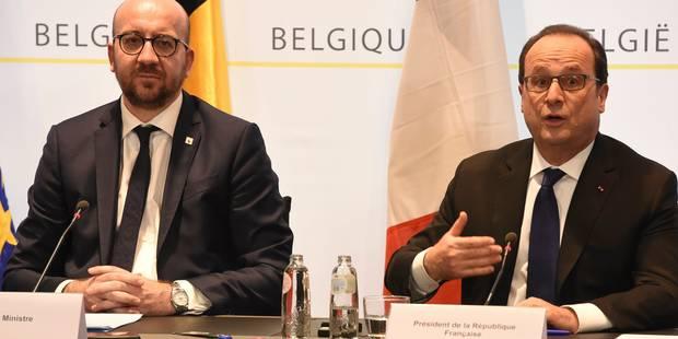 Attentats de Paris: Hollande reçoit les victimes après l'arrestation d'Abdeslam - La Libre