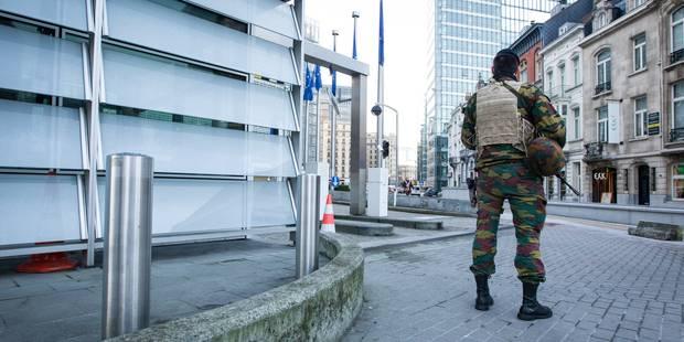 Militaires dans la rue: est-ce vraiment efficace? - La Libre