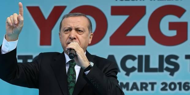 """""""Incapables"""" : Erdogan dénonce à nouveau le laxisme des autorités belges - La Libre"""