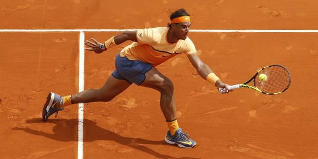 Monte-Carlo: neuvième titre pour Nadal - La Libre