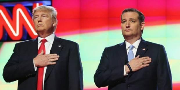 """Ted Cruz traite Donald Trump de """"menteur pathologique"""" et """"amoral"""" - La Libre"""